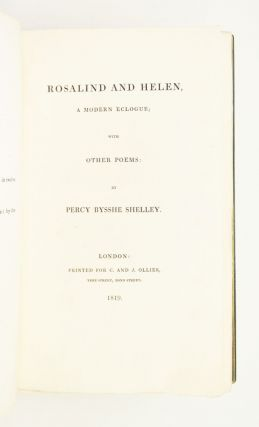 ROSALIND AND HELEN, A MODERN ECLOGUE; WITH OTHER POEMS.