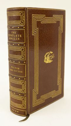 THE COMPLETE ANGLER. BINDINGS - BAYNTUN, IZAAK WALTON, CHARLES COTTON