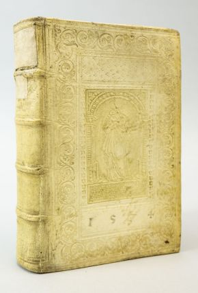 SUMMA DOCTRINAE CHRISTIANAE CATHOLICAE. BALTHASAR WERNHER BINDINGS - 16TH CENTURY, KONRAD KLING