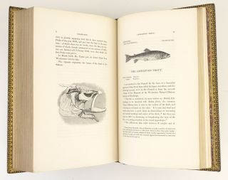 A HISTORY OF BRITISH FISHES [with SUPPLEMENT]. BINDINGS - MACKENZIE, SON
