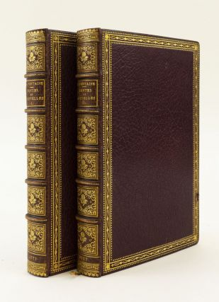 CONTES ET NOUVELLES EN VERS. FRENCH ILLUSTRATED BOOKS, JEAN DE LA FONTAINE, BINDINGS - E. LUDWIG