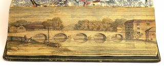 POEMS. FORE-EDGE PAINTINGS, WILLIAM COWPER