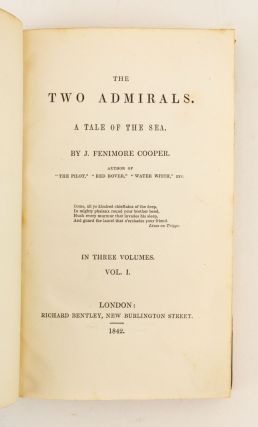 THE TWO ADMIRALS. A TALE OF THE SEA.