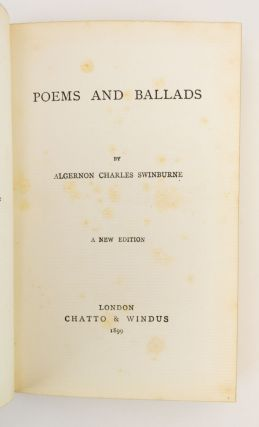 POEMS AND BALLADS.