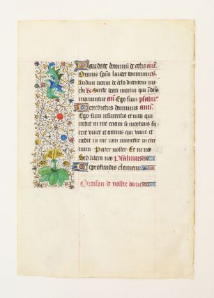 FROM A LARGE BOOK OF HOURS IN LATIN AND FRENCH.
