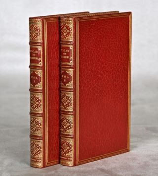 THE VICAR OF WAKEFIELD: A TALE SUPPOSED TO BE WRITTEN BY HIMSELF. BINDINGS - RIVIERE, OLIVER GOLDSMITH.