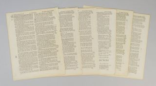 TEXT FROM I SAMUEL. OFFERED INDIVIDUALLY PRINTED LEAVES, FROM A. BIBLE IN ENGLISH