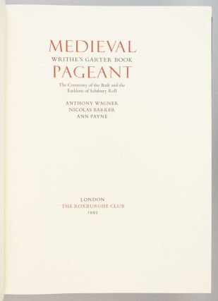 MEDIEVAL PAGEANT.